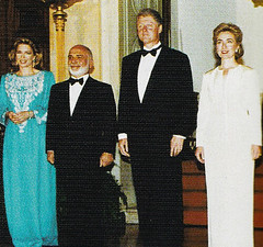 The Husseins with the Clintons, 1994 (Doc Kazi) Tags: jordan hashemite kingdom monarchy hussein talal hassan sarvath noor lisa clinton hillary bill rabin leah mobarak yasser arafat hosni suha princes princesses nineties middle east peace oslo ii