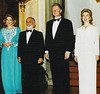 The Husseins with the Clintons, 1994 (Doc Kazi) Tags: jordan hashemite kingdom monarchy hussein talal hassan sarvath noor lisa clinton hillary bill rabin leah mobarak yasser arafat hosni suha princes princesses nineties middle east peace oslo ii