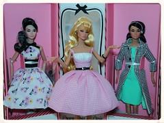 Poppy Parker Bon Bon Collection - Springtime and Bonjour Mademoiselle! (JennFL2) Tags: poppy parker bon collection springtime bonjour mademoiselle integrity toys spring 2016