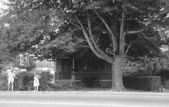 More Milford memories from teenage years, That's me on my Chopper bike at a friend's house, his grandmother talking to a lady in a hat. Taken from across Merwin Ave from Sloppy Joe's restaurant. Milford Connecticut.  July 1973 (wavz13) Tags: oldphotographs oldphotos 1970sphotographs 1970sphotos oldphotography 1970sphotography vintagesnapshots oldsnapshots vintagephotographs vintagephotos vintagephotography filmphotos filmphotography vintagemilford oldmilford 1970smilford vintagewoodmont oldwoodmont 1970swoodmont connecticutphotographs connecticutphotos oldconnecticutphotography oldconnecticutphotos oldconnecticut vintageconnecticut connecticutphotography vintagenewengland oldnewengland 1970snewengland vintagenewenglandphotography oldnewenglandphotography vintagenewenglandphotos oldnewenglandphotos oldbikes vintagebikes oldbicycles vintagebicycles chopperbikes chopperbicycles 1970sbikes chopper huffychopper raleighchopper ralieghchopper oldfamilyphotos vintagefamilyphotos oldfamilyphotography vintagefamilyphotography 126 126film squareformat instamatic verichromepan grain grainy analogphotography vintagekids vintagechildren vintageteens vintageteenagers teenmemories teenagememories vintageclothes oldclothes vintageclothing oldclothing oldhouses vintagehouses
