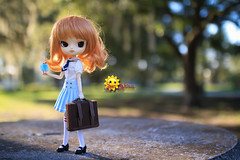 Were Might My Road Take Me? (dreamdust2022) Tags: school cute girl sunshine happy doll sweet dal curious charming darling playful cuddles giggles elementary