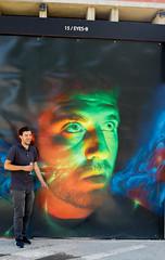 URBANA vernissage BNP - Artistes devant leurs oeuvres (saigneurdeguerre) Tags: europe europa belgique belgium belgi belgien belgica bruxelles brussel brssel brussels bruxelas streetart street streetshot art graffiti artiste urbana asbl canon 7d mark ii 2 interfaces