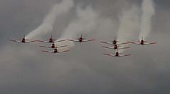 SWISS AIR FORCE PC-7 TEAM EAST FORTUNE (toowoomba surfer) Tags: airshow airdisplay aviation aircraft displayteam