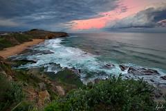 Coastal lookout (FPL_2015) Tags: turimettabeach leefilter gnd09 nd18 canon1635f4lis canon6d landscape northnarrabeen northernbeaches sydney australia sunset rocks ocean water seascape
