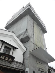 Kawagoe landmark under renovation-3 (Stop carbon pollution) Tags: japan  honshuu