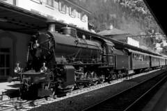 Gotthard Railway - Göschenen Anno 2016 (Kecko) Tags: 2016 kecko switzerland swiss schweiz suisse svizzera innerschweiz zentralschweiz uri gotthard göschenen bahnhof station bahn eisenbahn railway railroad gotthardbergstrecke steam locomotive dampflokomotive elefant c56 2978 swissphoto geotagged geo:lon=8588910 geo:lat=46665850