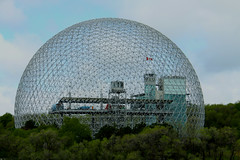 Montreal Biosphere (Nick Fewings 4.5 Million Views) Tags: environment biosphere montreal canada architecture building museum north america nick fewings 1968 expo