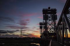 newport sunset 04 (Ian Robinson Pictures) Tags: river tees newportbridge newport bridge sunset middlesbrough teesside