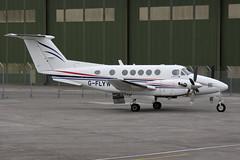 2016-08-12-003FD G-FLYW (BringBackEGDG) Tags: newquay stmawgan beechcraft beech 200 super king air gflyw