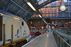 Eurostar 373005 (Will Swain) Tags: london 4th july 2016 train trains rail railway railways transport travel uk britain vehicle vehicles england english greater capital city south east eurostar 373005 class 373 3005 3006 373006 seen st pancras international ready work 9o80 0540 paris gare du nord