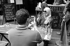 Borough Market (AnnieWilcoxPhotography) Tags: saycheese peoplewatching england wwwanniewilcoxcouk southwarkstreet applebees 2016 anniew69 fujifilm blackwhite unitedkingdom photographytechnique fujifilmx100t london boroughmarket monochrome photography fuji july urbanphotography bw europe fujix100t anniewilcox britain british britishisles greatbritain uk blackandwhite cityphotography