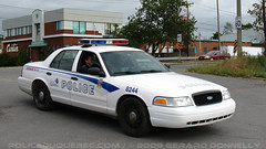Service de police de la Ville de Québec (SPVQ) (POLICEDUQUEBEC.COM) Tags: ford québec interceptor 8244 spvq funéraillesroy