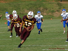 TD Run (AppStateJay) Tags: school football nc student action thomas sony run classical jefferson middle athlete academy score middleschool td 2014 spartans charterschool tjca dschx300 sonydschx300 communityschoolofdavidson thomasjeffersonclassicalacademy