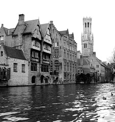 In Bruges (chrism00se) Tags: tower history canon canal capital canals belltower historical bruges waterway belfort canoncamera canonphotography inbruges brugescanals beflry brugeshotel