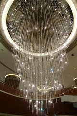 Grand Lisboa hotel chandelier (sofimi) Tags: travel hotel crystals chandelier macau grandlisboa