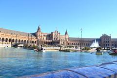 Plaza de Espana, Seville (Aizati Athirah) Tags: plaza spain seville