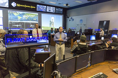 JSC Chief Flight Director John McCullough shows us the New Mission Control Room