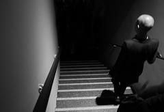 ... (elisachris) Tags: light shadow blackandwhite bw berlin dark licht highcontrast monochrom schatten ricohgr dunkel schwarzweis coberlin