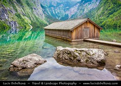 Germany - Bavaria - Berchtesgaden National Park - Obersee Lake and its boathouse ( Lucie Debelkova / www.luciedebelkova.com) Tags: world trip travel vacation holiday tourism beautiful wonderful germany bayern deutschland bavaria berchtesgaden nice fantastic perfect europe tour place awesome country sightseeing eu visit location tourist best journey german stunning destination sight traveling lovely visiting ge exploration incredible touring breathtaking germania deutsch germanic centraleurope bundesrepublikdeutschland federalrepublicofgermany luciedebelkova wwwluciedebelkovacom luciedebelkovaphotography