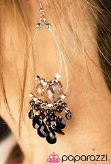 5th Avenue Black Earrings K1 P5110-5