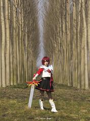 Hikaru (Stefania_Ginger) Tags: italy cute cosplay magic kawaii sword knight cosplayer cos hikaru rayearth approvato