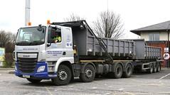 DAF Euro 6 MSL Roll-on-Off BinWagon & Matching Trailer PN64PYZ    Frank Hilton 05032015 113 (Frank Hilton.) Tags: pictures classic truck frank photos transport hilton lorry trucks
