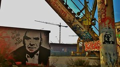 HardNesh/BaDAs / DOK - 23 jan 2015 (Ferdinand 'Ferre' Feys) Tags: streetart graffiti stencil belgium belgique belgi urbanart graff ghent gent gand graffitiart artdelarue termont walterdebuck urbanarte hardnesh
