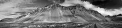 Nattmalatindur near hfn 1 6p sw (Bilderschreiber) Tags: bw white black landscape island iceland sw landschaft hfn schwarzweis nattmalatindur