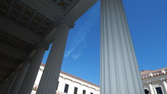 Pillar Study 2 (KiwiCharlotte - Insta charli_nz) Tags: home beautiful museum italian gallery structure malibu villa getty marble wealthy ornate pillars structural solid valuable