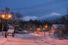 (bernhardda15) Tags: winter snow mountains japan night hokkaido   onsen    shirogane
