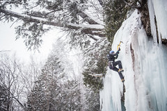 Ice fest 2015 (TheSpencermiller) Tags: winter cliff ice nature canon eos climb frozen rocks action michigan great lakes pictured superior adventure climbing fest pure munising 6d 2015