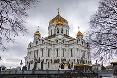 Cathedral of Christ the Saviour (Michael Olea) Tags: travel winter russia moscow 2014  cathedralofchristthesaviour