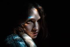 The sun in her eyes (Greatbigwhale) Tags: light portrait digital 35mm dark nikon dof dream sigma dreamy dd inspiredbylove 35mm14 d700 nikond700