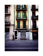 Physical graffiti (Salva G.) Tags: barcelona street urban film analog pen 35mm photography superia lofi streetphotography olympus 200 fujifilm pelicula analogue halfframe expired 35 sants singleframe ee2 pellicula