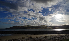 Opononi Dunes 1 (Markj9035) Tags: sunset sea newzealand lake ferry coast lakes windswept coastline northland ahipara northlands oponomi