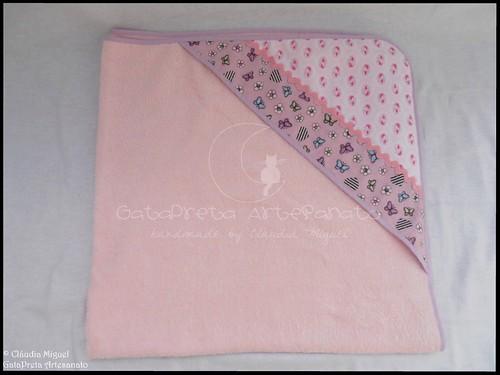 Conjunto tecido bebé A Fada e os pózinhos perlimpimpim lilás13