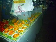 Vegetables in Paramaribo Central Market