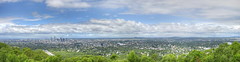 Brisbane Panorama (_lennyk_) Tags: city panorama look out photo pano postcard australia brisbane panoramic lookout mount queensland coot tha cootha citycape