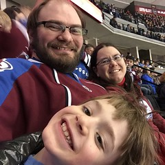 The Zebulon Pike enjoying an awesome #Avs game. Go Avs! / on Instagram http://instagram.com/p/zbNWUtMmqE/