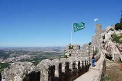Castle of the Moors (NeilCain) Tags: summer holiday portugal lisbon tourists nikond40 nikond90 canons90