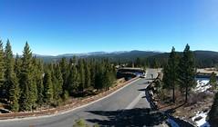 Pano of the Sierras from the Ritz-Carlton Hotel,  Lake Tahoe (Bob WVU) Tags: panorama mountains tahoe sierranevada note4