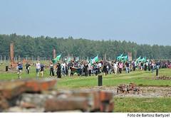 Arribada al camp d'Auschwitz