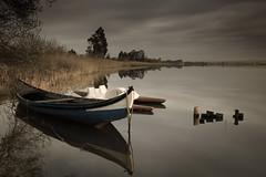 Rest...Ria de Aveiro (paulosilva3) Tags: mist sunrise canon de eos boat lee filters ria aveiro waterscape 6d moliceiro murtosa proglass