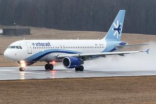 Interjet Airbus A320-200 XA-ILY KCMH 14MAR15