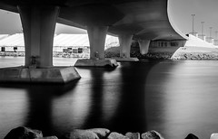 Jeddah, Saudi Arabia Shot (Abhishekh Saravanan) Tags: blackandwhite bandw bw bridges landscapephography landscapes beautiful colourless black white city jeddah saudiarabia middleeast saudi dubai indian nikon nikkor 3200