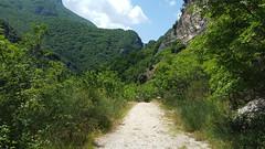 Gole del Salinello - road to cave (GlobalQuiz.org) Tags: gole del salinello mountains trekking