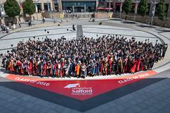 University of Salford 2016 Graduation Ceremony 5 (University of Salford) Tags: quays university scholars graduates lowry event graduation degree graduand salford