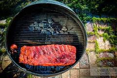 Smoking - 07-July-2016 (Cesar - 32photos) Tags: summer nikon bbq ribs nikkor weber d800 smokingribs cookingoutside nikkor2470mmf28 nikond800 outdoorgrilling summer2016