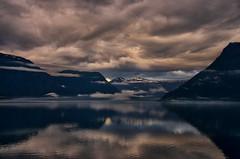 Fjord (efgepe) Tags: 2016 skandinavien norge noreg norwegen norway fjord farbe color colour viveza nik lightroom pentax pentaxk5 lustra lustrafjorden lustrafjord