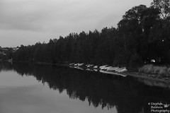0D6A1910 - Boasts @ rest (Stephen Baldwin Photography) Tags: trees lake water landscape bay waterfront macquarie foreshore boast warners